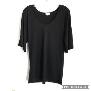 Anthropologie deletta tunic top size s